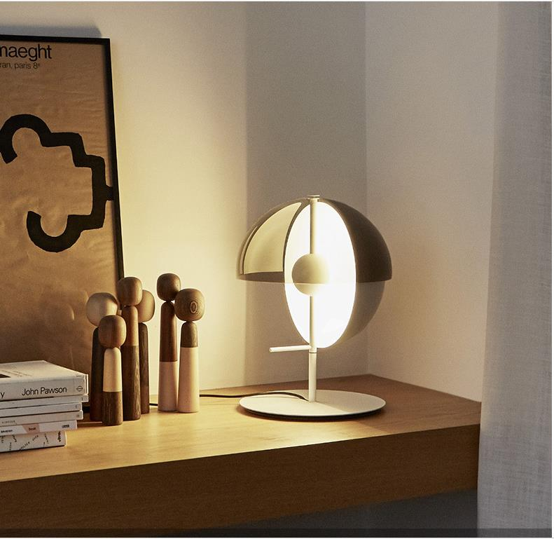 LukLoy Bedside LED Table Lamps Nordic Postmodern Glass Table Light for Bedroom Living Room Office Minimalist Nightstand lamp